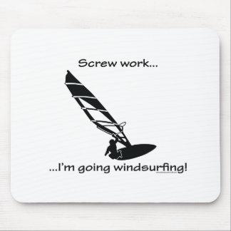 Skruva gående vindsurfa för arbete… musmatta