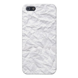 Skrynkligt papper iPhone 5 fodral
