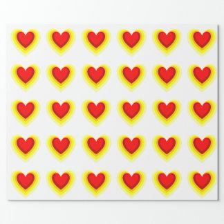 Skugga av hjärtan presentpapper