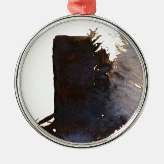 Skugga av monoliten julgransprydnad metall