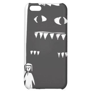 Skugga monster iPhone 5C mobil skydd