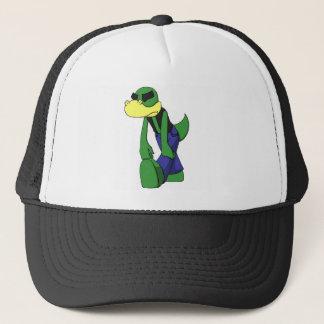 Skuggade nedslagna Lizardface - Truckerkeps