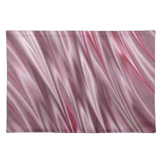 Skuggade randar för rosa- och grå färgsatängstil bordstablett