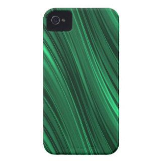 Skuggade randar för smaragd grönt iPhone 4 fodral
