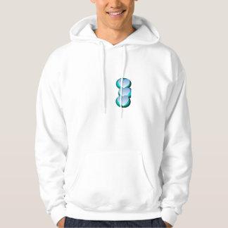 Skuggar av blått hoodie
