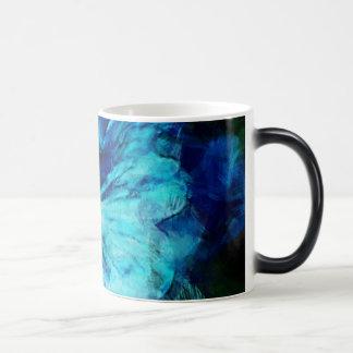 Skuggar av blått magisk mugg