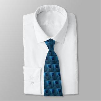Skuggar av blått slips