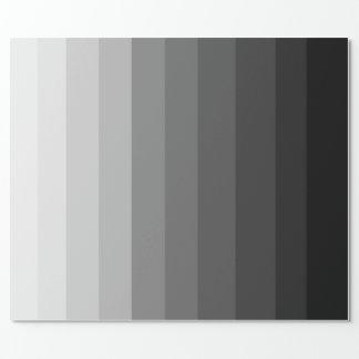 Skuggar av grå färg som slår in papper presentpapper