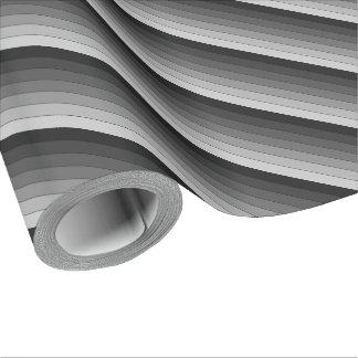 Skuggar av grå randmönsterelegant presentpapper