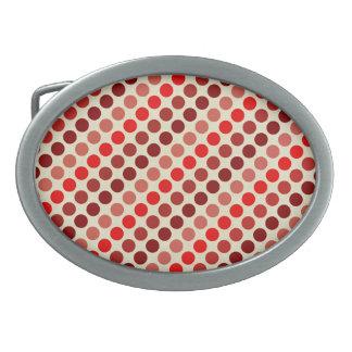 Skuggar av röd polka dots av Shirley Taylor
