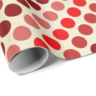Skuggar av röd polka dots av Shirley Taylor Presentpapper