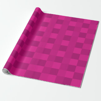 Skuggar av rosa checkers presentpapper