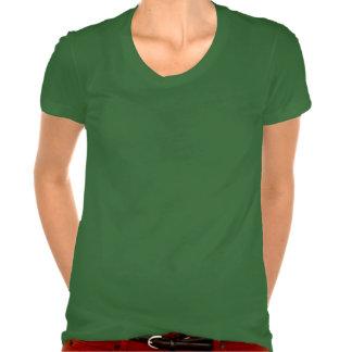 Skuggar mallen för 5 KÄRLEK för FOTOET för TEXT Tee Shirts