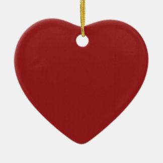 Skuggar tomt rött för mall tillfogar lätt julgransprydnad keramik