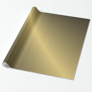 Skuggat guld presentpapper