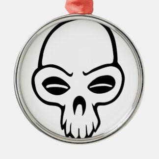 skull.png julgransprydnad metall