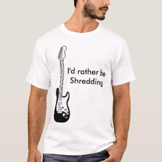 """""""Skulle jag strimlar ganska"""" T-tröja Tee Shirt"""