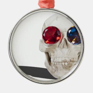 SkullGemEyes051213.png Julgransprydnad Metall