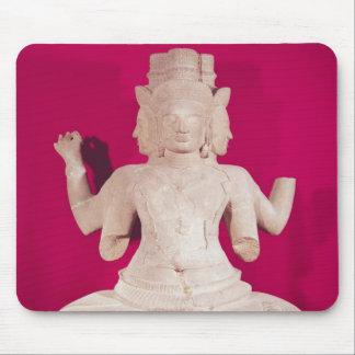 Skulptur av Brahma med fyra ansikten 2 Musmatta