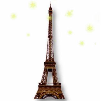 Skulptur för Eiffel tornfoto Photo Sculptures