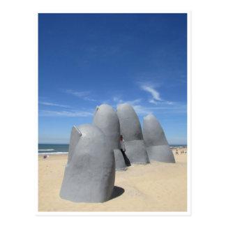 skulptur räcker vykort