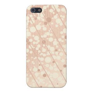 Skumpakräm och beige iPhone 5 fodral