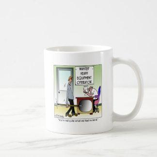 Skurkrollutrustningoperatör Kaffemugg