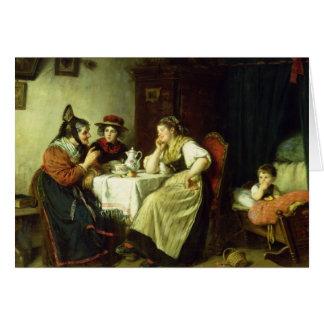 Skvaller, 1887 hälsningskort