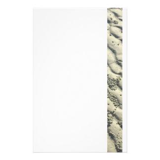 Skvalpar av sanden brevpapper