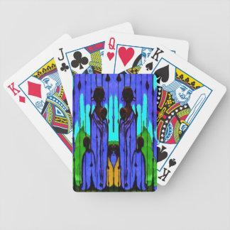 Sky&Blue Masai Spelkort