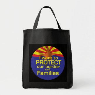 Skydda familjer som Arizona hänger lös Mat Tygkasse