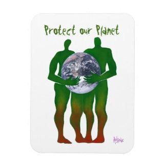 Skydda vår planetmagnet magnet