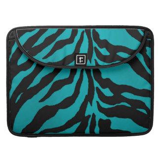 Skyddande Macbook för blåttsebra sleeve Sleeves För MacBook Pro