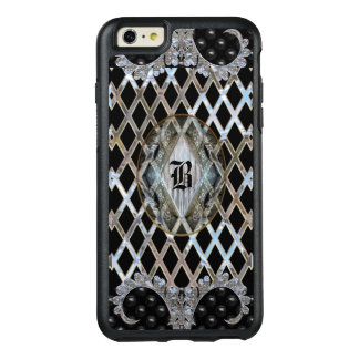 Skyddande Monogram Bloomington för modernt mönster OtterBox iPhone 6/6s Plus Skal