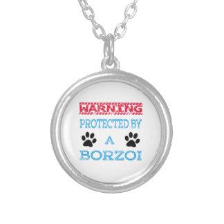 Skyddat av en Borzoihund Personliga Halsband