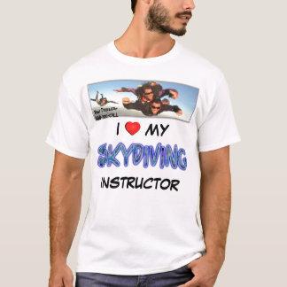 Skydive Dropzone älskar jag min skydiving T Shirt