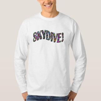 Skydive - Graffatti stänk Tee Shirts