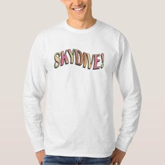 Skydive - ljusa regnbågar! tröja