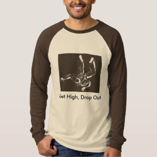 Skydiving Baller skjorta Tshirts