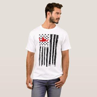 skydiving flaggaamerikan tröjor