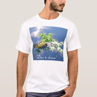 Skydiving grodor t-shirt