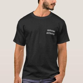 Skydiving instruktör - fallskärmen bemannar t-shirts