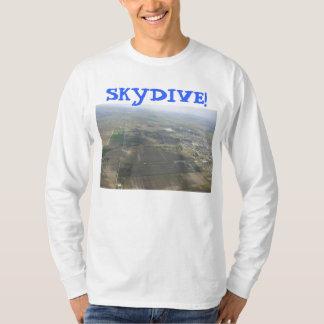 skydiving skydive fallskärmjord t shirts