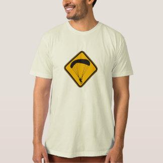 Skydiving utslagsplats t-shirt
