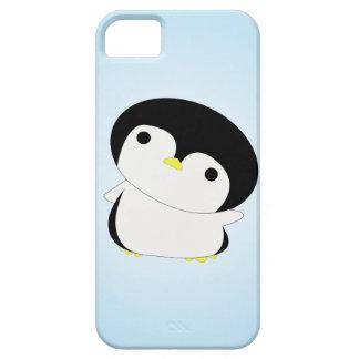 Skygga den höga iphone case för babypingvinnågot iPhone 5 Case-Mate fodral