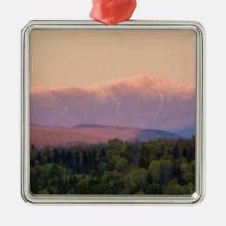 Skymning och montering Washington i New Hampshire Julgransprydnad Metall