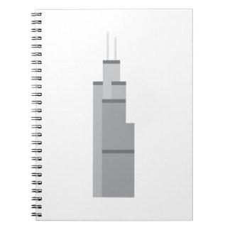 Skyscraper Anteckningsböcker