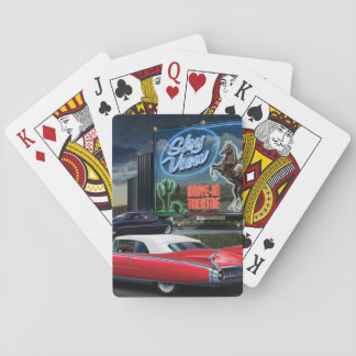 Skyview drev in spel kort