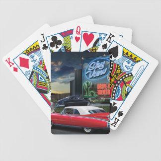 Skyview drev in spelkort