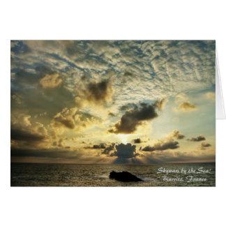 Skywars vid havet! hälsningskort